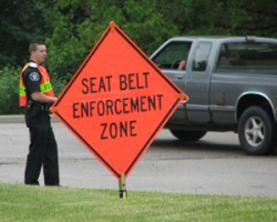 Seat Belt Enforcement Zone