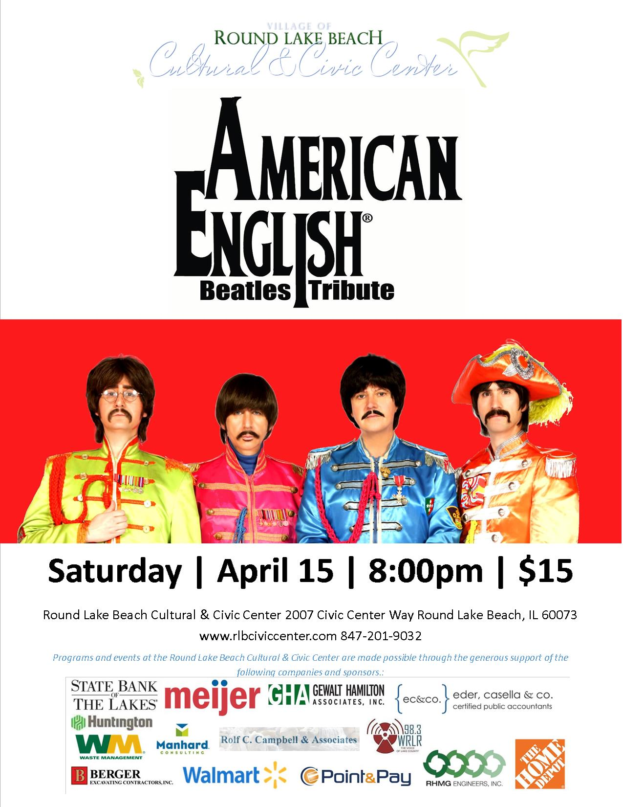 American English poster