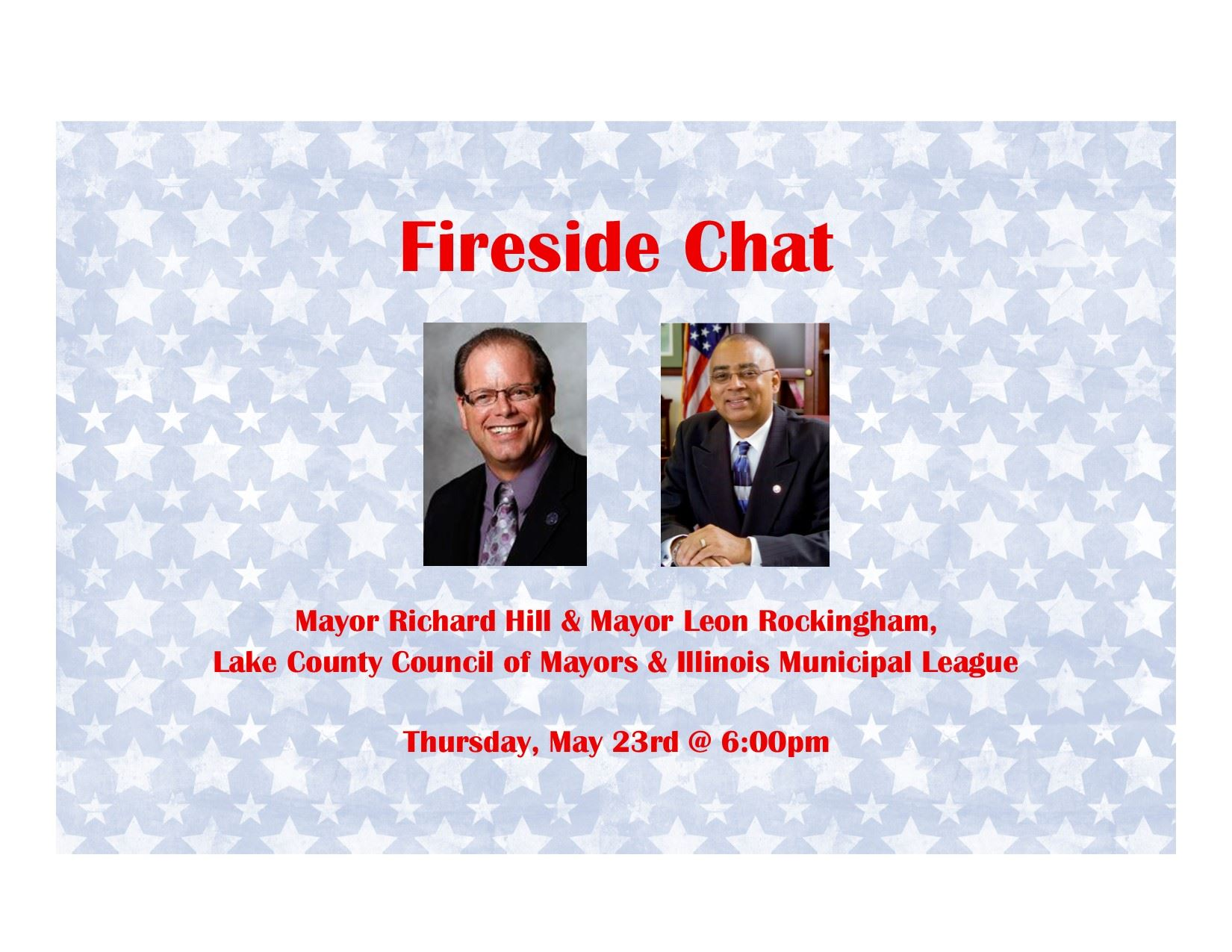 Fireside Chat Banner - May 2019
