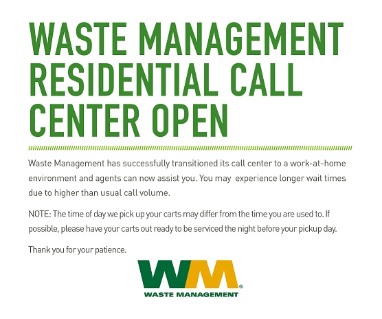 WM Call Center OPEN